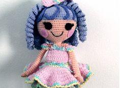 Amigurumi Doll Lalaloopsy Pattern : Lalaloopsy alice crocheted crochet dolls free pattern and crochet