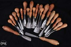 Best woodcarving chisels in the world by Jerzy Świrydowicz