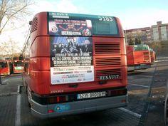 Publicidad autobús Valencia - IBERIA FÉSTIVAL