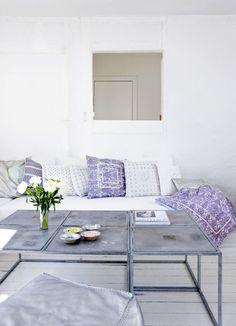 Rauhallinen olohuone. / Peaceful living room. / kuva/pic: Morten Holtum