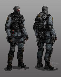 Armacham Soldier - Grunt - F.E.A.R 3