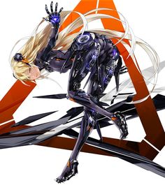 TIP君(@liger300939asth)さん | Twitterがいいねしたツイート Cyberpunk Kunst, Cyberpunk Anime, Cyberpunk Girl, Mecha Anime, Female Character Design, Character Design Inspiration, Character Concept, Character Art, Concept Art