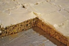 Cream Cheese Frosted Banana Bars  (WWP+4 for one, two bars are 7PP+)