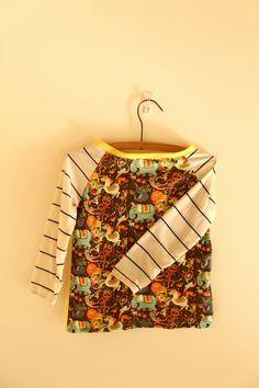 Birthday raglan by Stella Rutherford. Circus Parade fabric by Irrimiri: http://www.spoonflower.com/fabric_items/new?buy_this=true_id=704779_item_id=3484566