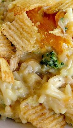 Chicken & Potato Chip Casserole ❊