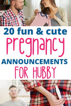 Pregnancy announcements for your husband to let him know you're pregnant for the first time. What a wonderful time to ttc and get pregnant. These pregnancy announcements are Instagram pregnancy announcement worthy! #pregnancy #pregnancyannouncements #ttc #dadannouncements