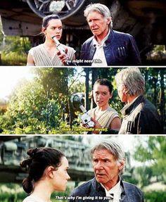 Han + Rey