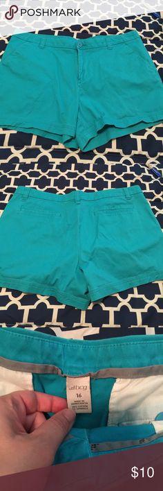 💚Turquoise shorts Turquoise chino shorts BCG Shorts