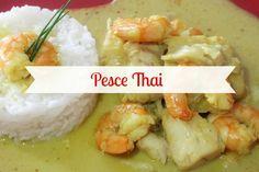 """- Un davoloso piatto unico che fa centro sicuro! Pesce thai con salsa al curry e latte di cocco accompagnato da riso basmati. - Delicious thai fish! With coconut milk and curry sauce...A true """"must try""""!"""