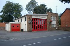 Fire station in North Street