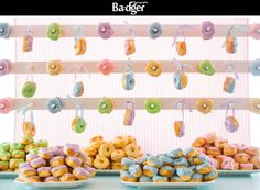DONUT STATION - Maddy K Party Stations available exclusively at www.joesprophouse.com