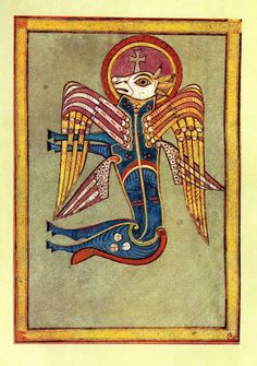 pegasus ponycorn   The Ancient Book Of Kells