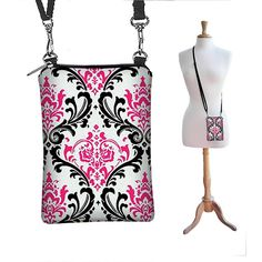SALE  Cell Phone Crossbody Phone Case by janinekingdesigns on Etsy, $24.99