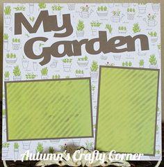 My Garden - Basic Premade Scrapbook Page Layout Shed Plans 8x10, Diy Shed Plans, Cheap Garden Sheds, Diy Conservatory, Diy Foundation, Shed Blueprints, Gazebo Plans, Shed Kits, Home Vegetable Garden