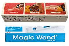 1968's MAGIC WAND - created by Hitachi. Best selling Creative Massage therapy tool. Iconic after 46 years. #magicwand #vintage #productdesign