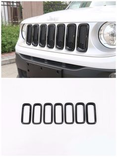 Car Front Grille Inserts Mesh Grill Accessories Black For Jeep Renegade 2015-17 | eBay Motors, Parts & Accessories, Car & Truck Parts | eBay!
