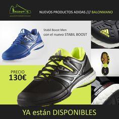 #zapatillas #stabil #boost YA están DISPONIBLES en españa Precio: 130€ http://www.dosminutosbalonmano.com/es/detalles/stabil-boost--1933/
