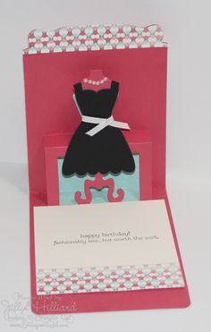 Jill's Card Creations: Dress me up!