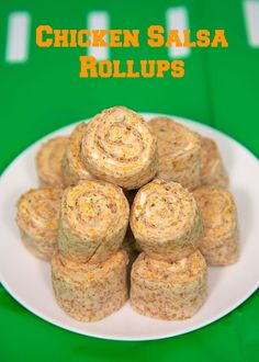Chicken Salsa Rollups