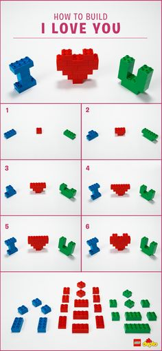 Whether they are big or small, why not remind that special someone in your life how much you care for them in a creative and fun way? <3 Find building instructions here: http://www.lego.com/da-dk/family/articles/heart-melting-valentines-crafts-for-toddlers-2949acf1ebe14db6a8ff0a1b6cf95a30