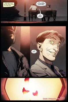 """Snyder & Capullo: """"Batman"""" Twists Reveal 'Dark, Scary Things' in the Shadows - """"The issue built to a shocking sitdown between Bruce Wayne and the Joker, albeit with a different look than expected"""" CBR Game Design, Game Character Design, Joker Dc, Joker And Harley, Joker Arkham, Joker Kunst, Dc Comics, Batman Ninja, Heath Ledger Joker"""