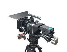 Tilta BMCC rig for BlackMagic Camera Cage + Follow focus + 4*4 Carbon Matte box
