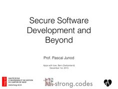 How To Develop Secure Software