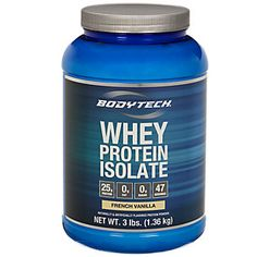 Buy Whey Protein Isolate - French Vanilla (3 Pound Powder) from the Vitamin Shoppe. Where you can buy Whey Protein Isolate - French Vanilla and other products? Buy at at a discount price at the Vitamin Shoppe online store. Order today and get free shipping on Whey Protein Isolate - French Vanilla (UPC:766536025305)(with orders over $35).
