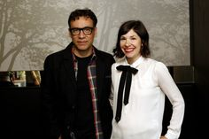 Yahoo! TV Q: 'Portlandia's' Fred Armisen and Carrie Brownstein preview their new holiday special... and accept a marriage proposal