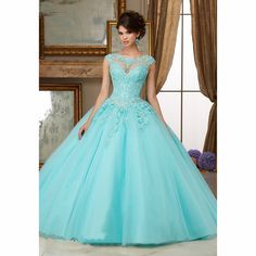 Cheap dress up wedding gowns, Buy Quality dresses chanel directly from China dress band Suppliers:  Cheap Cap Sleeve Appliques Lace Beaded Red Pink Light Blue Quinceanera Dresses 2016 Puffy Sweet 16 Ball Gown Ve