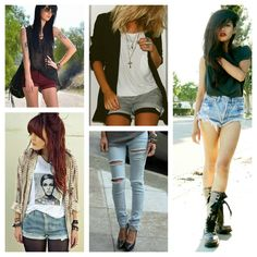 Rock style #style #cool #beauty