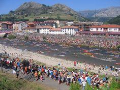 Arriendas. Descenso del Sella Asturias