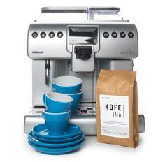 Ekspres automatyczny Saeco Aulika Focus i KAWKA - I love coffee | Caffe Vergnano | Caffe Carraro | La via del te |