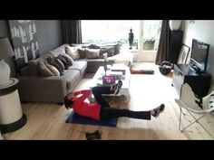 7 minute workout dag 13 - YouTube