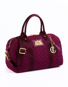 Quilted satchel bag from #JuicyCouture! #lordandtaylor #handbags