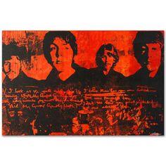 THE BEATLES ORIGINAL S/S SIGNED GAIL RODGERS - PAUL MCCARTNEY JOHN LENNON RINGO