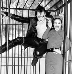 """""""Jerry Only and ?, at Irving Plaza, Halloween 1979"""""""