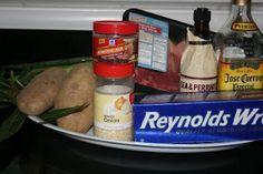 Crock pot Layered Dinner... Steak, Potatoes and Corn on the cob
