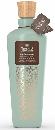Premium Caffeine Shampoo Made From Organic Green Tea Extract 12 oz, by Tea42 * Visit the image link more details. (Note:Amazon affiliate link)