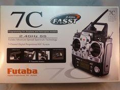 Futaba 7C RC Remote Airplane Helicopter FUTK7000 7-Channel 2.4GHz System R617FS  #Futaba