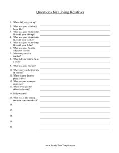 this printable oral history report is perfect for summarizing an