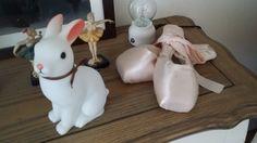 토끼 램프 Woodland Rabbit Night Light #bunnyinabow Pointe Shoes