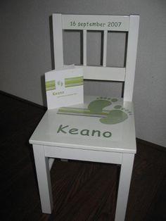 Geboortestoeltje voor Keano