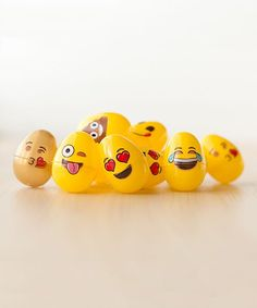 144-Ct. Assorted Emoji Easter Eggs