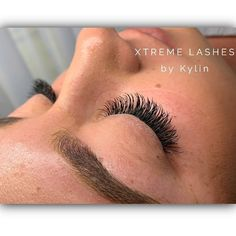 Xtreme Lashes done by our Stylist, Kylin Howard at Healthy Halo Beauty Secunda! 💕💜💕 A beautiful set of Faux Mink X-Wrap Lashes! Find an Xtreme Lashes Stylist in your area! Eyelash Extensions, Mink, Eyelashes, Halo, Stylists, Healthy, Beautiful, Lashes, Lash Extensions