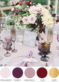 Mauve is trending like crazy! It is such a sweet color and works well with lots of greens! It is also romantic and sweet perfect for weddings. Here at Moss we can't wait to see events come through with it! Mauve Wedding, Burgundy Wedding, Wedding Flowers, Budget Wedding, Wedding Themes, Wedding Decorations, Wedding Ideas, Wedding Reception, Wedding Centerpieces