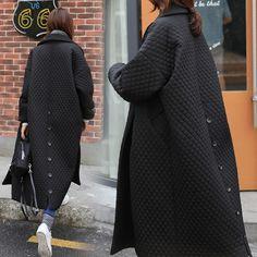 Winter Jackets Women, Coats For Women, Clothes For Women, Iranian Women Fashion, Womens Parka, Mode Hijab, Ideias Fashion, Winter Fashion, Fashion Outfits