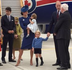 Prince William and Kate Middleton begin their Canadian Royal Tour with Prince George and Princess Charlotte.
