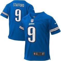 NFL Nike Detroit Lions Infant Team Color Matthew Stafford Game Jersey