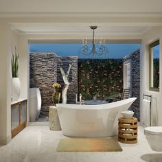 Bathroom Courtyard Design, Pictures, Remodel, Decor and Ideas - page 13